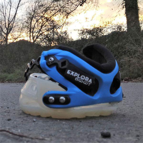 Bota para caballos Explora Boot color azul