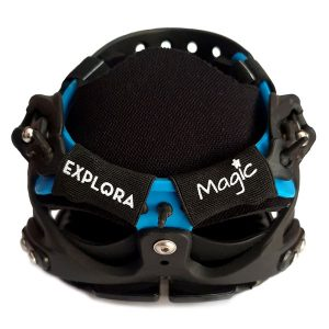 Explora Magic hoof boot black and blue